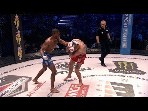 KSW Free Fight: Salahdine Parnasse vs. Marcin Wrzosek [ENG commentary]