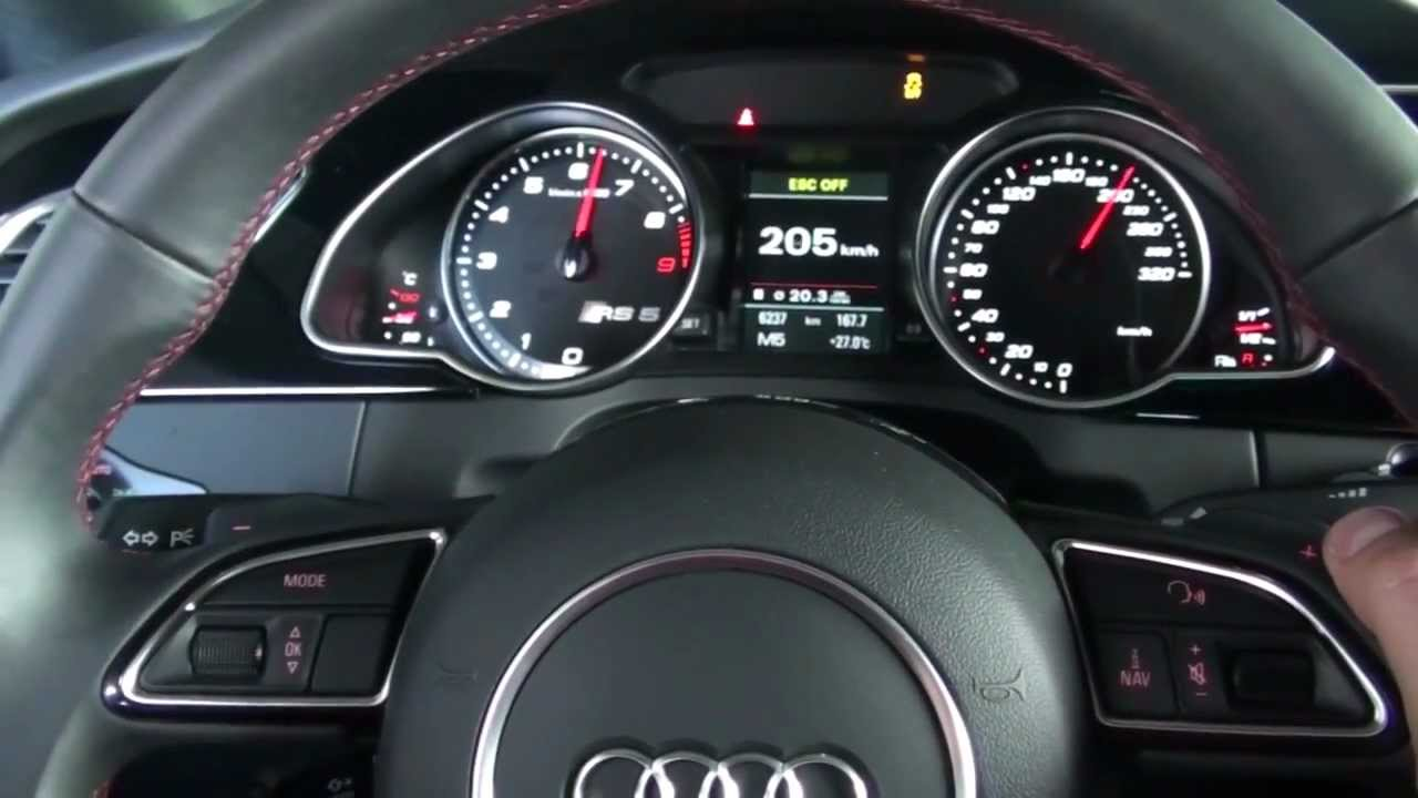 Audi Rs5 Speed Limiter Off Top Speed 327km H Youtube