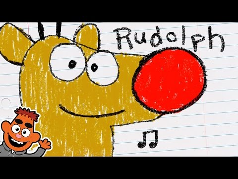 Rudolph the Red-Nosed Reindeer | Song for Kids | Pancake Manor