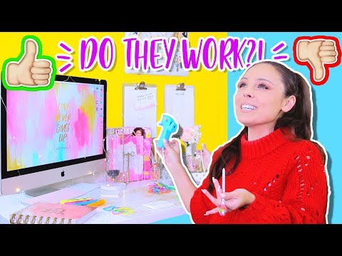 DO 5-MINUTE CRAFTS VIRAL DIYS ACTUALLY WORK!? SCHOOL AND OFFICE LIFE HACKS TESTED!