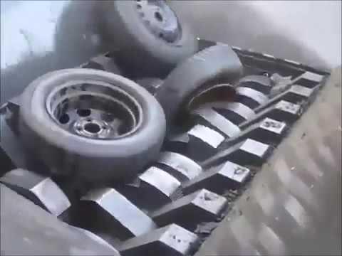 Mesin Penggiling Ban Bekas Otomatis (Penggiling Bahan Bekas)