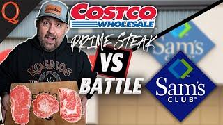 Prime STEAK Battle! Costco vs. Sams Club | Ft. Kosmos Q