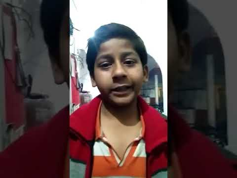 A boy complaint against his father in Police. Cute complain