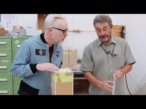 Adam Savage goes behind the scenes at the Smithsonian's Exhibits Central