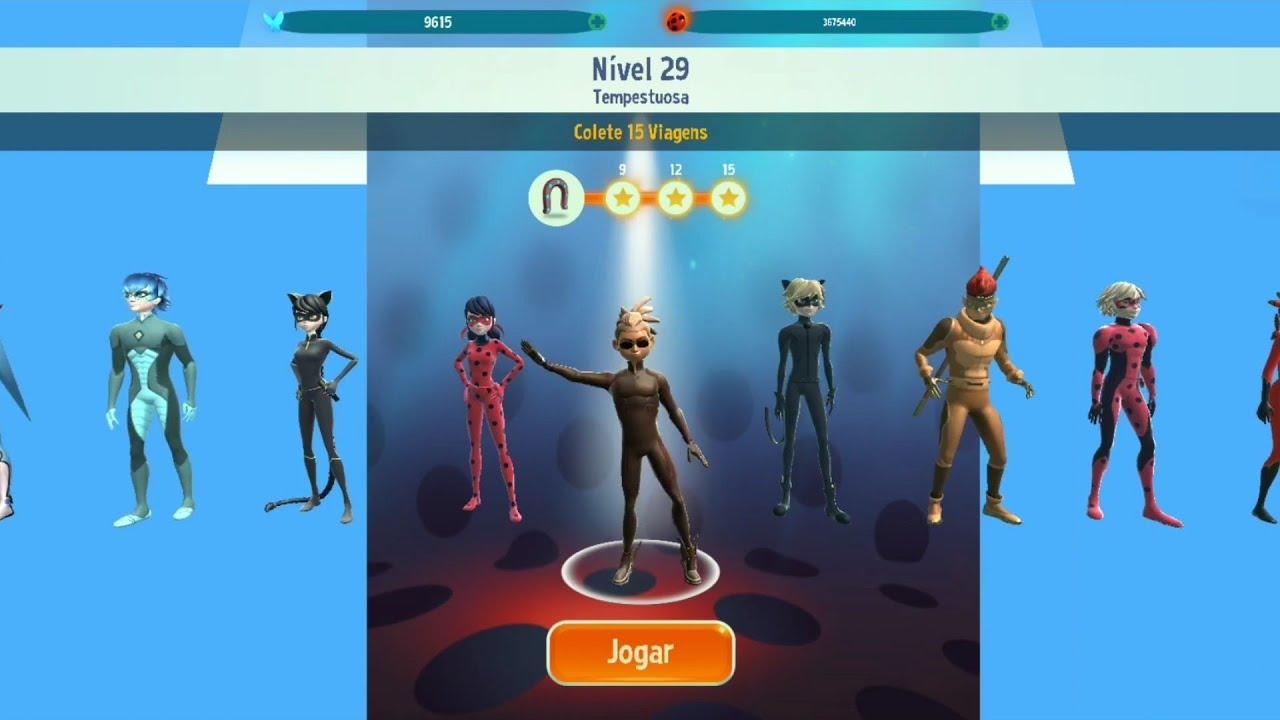 Pegasus no Nível 29 com Missão VIP - Jogo Oficial Miraculous Ladybug e Gato Noir em HD