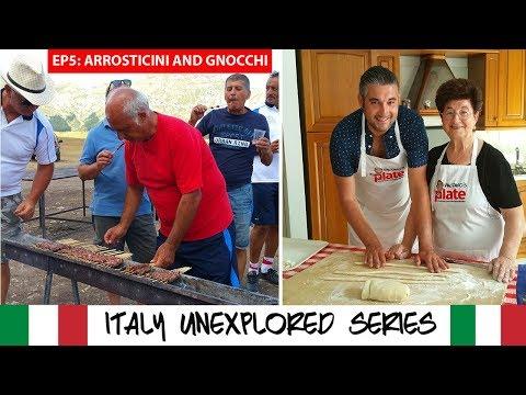 Santo Stefano Medieval Town, ARROSTICINI & Nonna's Gnocchi | Travel Documentary