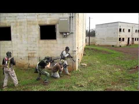 Airsoft Game At The MOUT - Schofield Barracks - SUNDAY, February 24, 2013