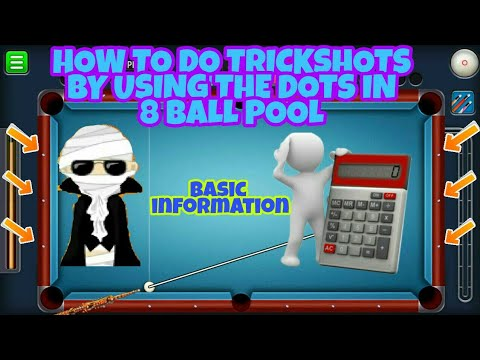 HOW TO CALCULATE TRICKSHOTS/BANK SHOTS IN 8 BALL POOL