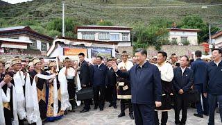 Viaje del secretario general Xi Jinping al Tíbet