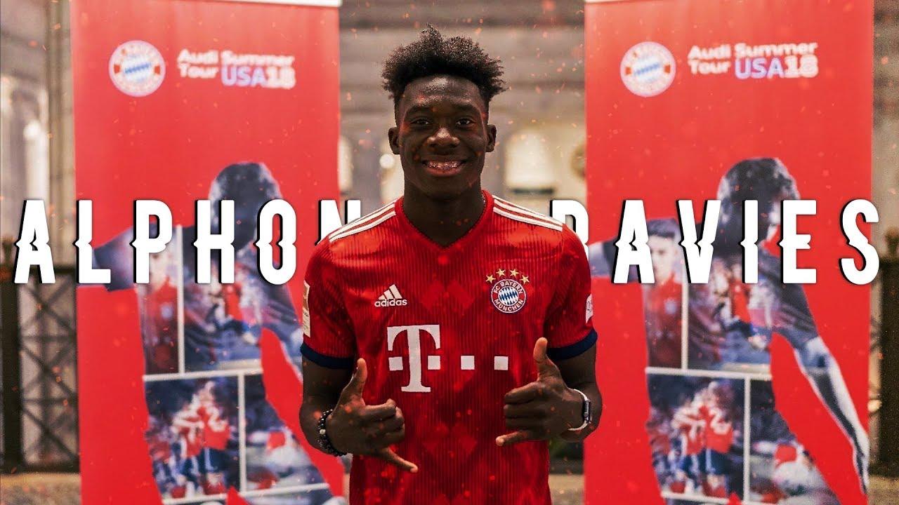 cheap for discount c9c64 4d4a1 Alphonso Davies | Welcome to Bayern Munich | Skills & Goals 17/18