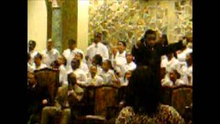 Singing with the Showers of Blessings Youth Choir (February 20th, 2011)