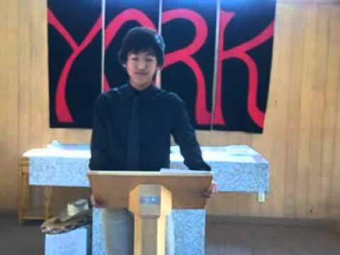 Winning Student Council President Speech - YouTube