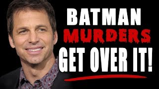ZACK SNYDER LASHES OUT AT FANS OVER BATMAN CONTROVERSY!