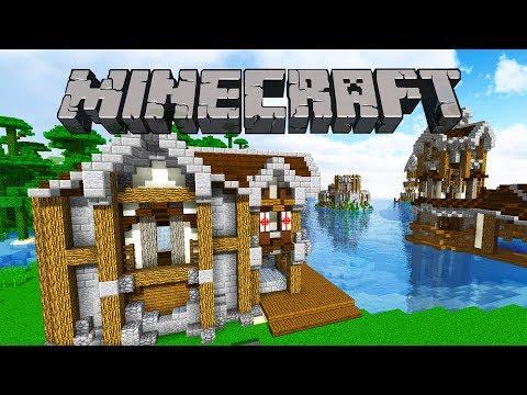 Crane House & Street Lights | Minecraft 1.12 Survival Let's Play | Episode 63