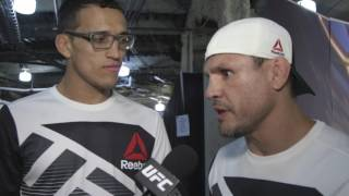 UFC 210: Charles Oliveira Backstage Interview