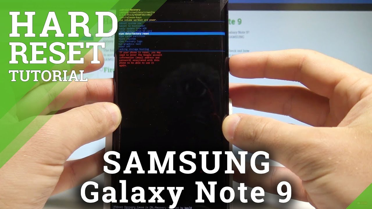 How to Hard Reset SAMSUNG Galaxy Note 22 - Bypass Screen Lock / Factory Reset