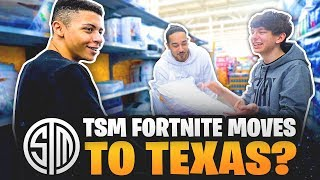 TSM Fortnite Moved to Texas?