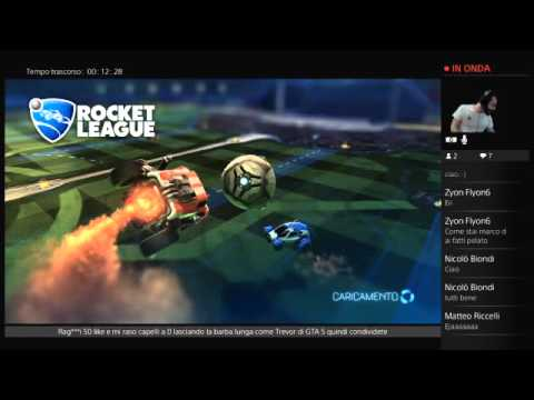 Rocket league live ita sponsor by Emiliano e Franco Hairstyle