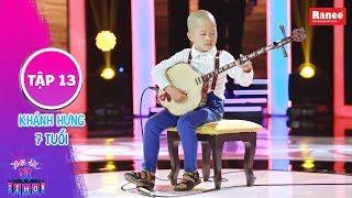 Biệt Tài Tí Hon 2|Tập 13: Trấn Thành kinh ngạc với cậu bé tấu đàn sến điêu luyện dù mới học 2 tháng