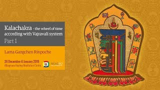 Kalachakra Festival – The Wheel of Time in according with Vajravali system – winter retreat 2018/2019 (English-Italian)