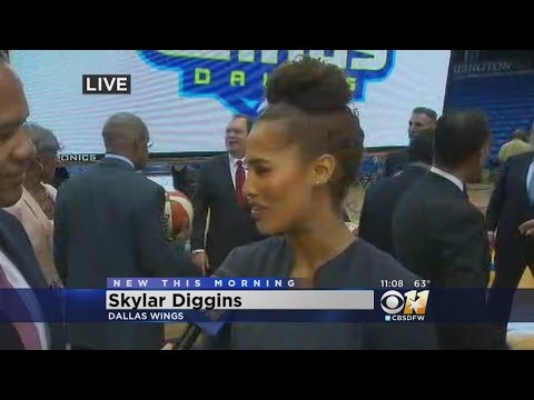 Skylar Diggins Talks Tulsa Shock & New