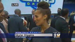 Skylar Diggins Talks Tulsa Shock & New