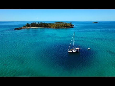 Download We Anchor Over a Blue Hole & Explore An Uninhabited Island   Sailboat Story 125