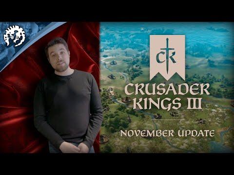 Crusader Kings 3 - November Update