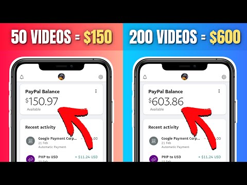 Get Paid $600 Per Day To Watch YouTube Videos 2021 (Earn FREE PayPal Money For Watching Online)