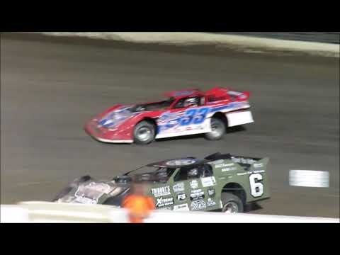 I 55 Raceway 6 23 2018 Late Model Heat #1 & Feature Dave Armstrong #6 1st Late Model Feature Win