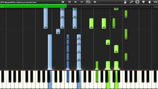 How to play M83 Midnight City Synthesia