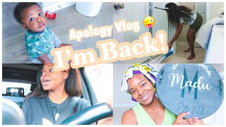 I'm Back!.....Accept this vlog as an apology | Ify Yvonne