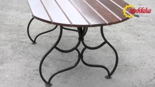 Стол садовый БОГЕМА от компании Хоббика(, 2016-04-29T08:04:43.000Z)