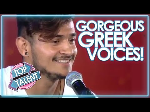 Best GREEK Singers - The Boys! | Top Talent