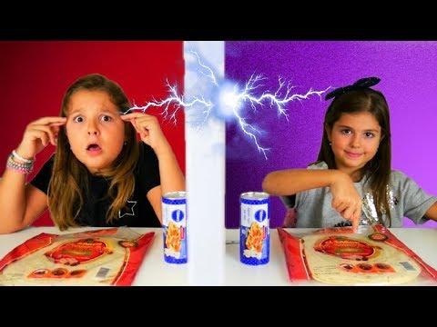 ΤΗΛΕΠΑΘΕΙΑ PIZZA CHALLENGE / ARTEMI STAR / twin telepathy pizza challenge