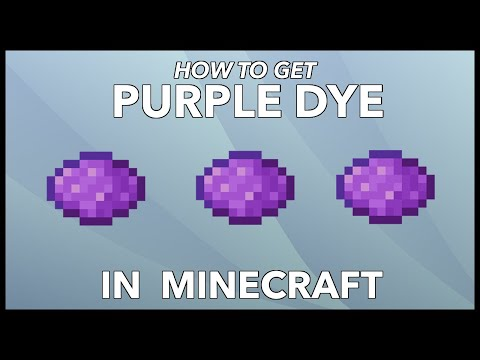 Minecraft Purple Dye: How To Get Purple Dye In Minecraft?