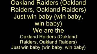 Ice Cube - Come And Get It (Raiders Anthem) (lyrics)
