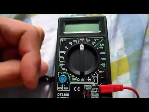 Como usar o multímetro (Atualizado)
