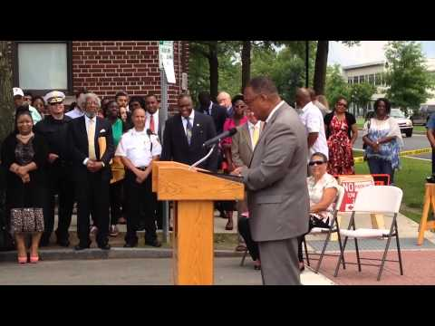 Retired Chief Justice Roderick Ireland has Street Named in his Honor