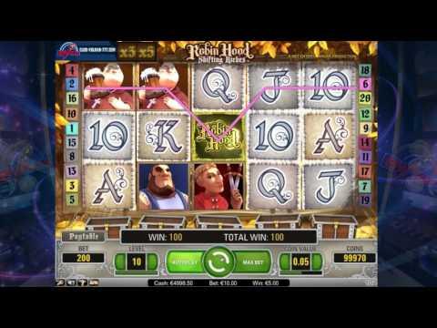 Обзор игрового автомата Robin Hood