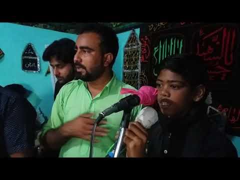 Saidpuri sadat noha khaani by mohd. Kaif