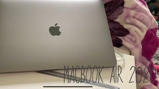 UNBOXING MACBOOK AIR 2020||Space grey