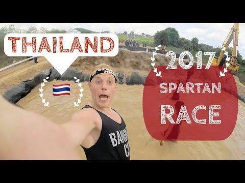 The Spartan Race Thailand.. VLOG!! 🌴  Pattaya Beach, 2017 Inaugural (Bangkok)