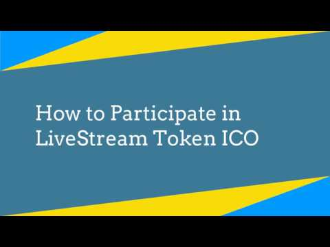 LiveStreaming Tokens ICO - Live Now