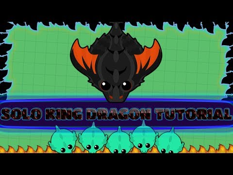 Mope.io Solo King Dragon Gameplay   Tutorial On How To Get Solo King Dragon!  