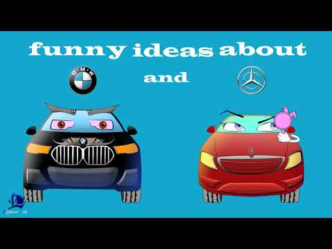 Funny ideas about Mercedes and BMW