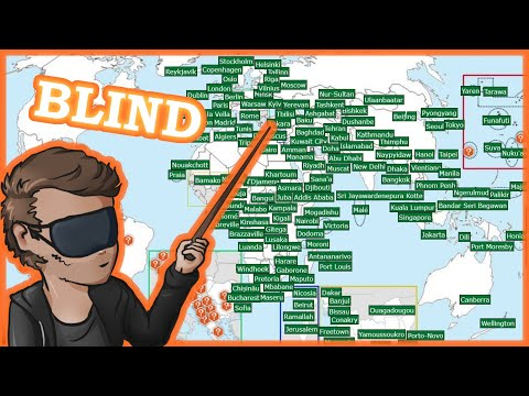 Naming every capital blindfolded (almost) 🌍 Sporcle