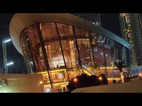 Dubai Opera House,  Burj Khalifa Light Show Sheikh Mohammed Bin Rashid Blvd Dubai