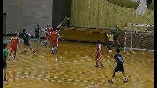 20191222福岡県高校新人ハンドボール男子決勝 博多vs九州産業(前半)