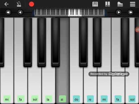 Çağatay Akman Bizim hikaye perfect piyano (notalarıyla birlikte)
